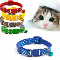 Adjustable Dog Collar With Bell Adjustable Buckle Dog Collar Cat Pet Supplies