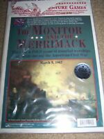 Chatham Hill Wargame The Monitor and the Merrimack Civil War Uncut EX Ironclads