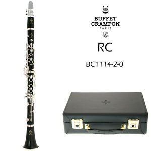 Buffet Crampon RC Bb Clarinet | BC1114-2-0 | Silver Plated