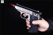Pistolen Feuerzeug PPK Chrom NEU!!