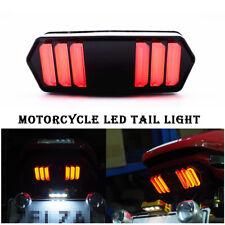 DC12V Motorcycle Brake Red Lamp LED Dirt Bike Stop Running Tail Light Universal