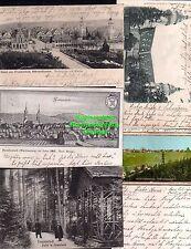 114543 5 AK Freudenstadt 1906 nach Merian 1663 Markt Kirche 1905 Reliefkarte Hol