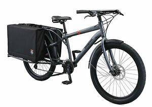 "Mongoose 26"" Envoy Cargo Bike, with 8-Speeds (Medium/Large Frame)"