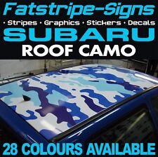 SUBARU CAMO ROOF GRAPHICS STICKERS STRIPES DECALS WRC WRX STI TURBO IMPREZA 2.0