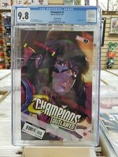 Champions 1 2nd print CGC 9.8