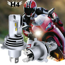 9003 H4 Motorcycle LED Headlights Bulbs High&Low Beam 55W 6500K 6000LM White M3