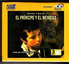El Principe y El Mendigo by Mark Twain (Audio Libro) NEW / SEALED