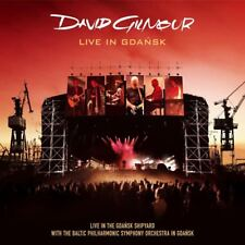 DAVID GILMOUR LIVE IN GDANSK DOUBLE CD AND DVD BOXSET NEW
