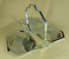 ART DECO Chrome Plated FOLDING CAKE STAND or SANDWICH PLATE