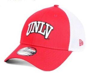 UNLV Running Rebels New Era Mens NCAA Neo 39THIRTY Cap size Med-Lg