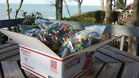 2000+ LEGO PIECES BULK GREAT PRESENT! FUN BUILDING BRICKS MIX 4 + POUNDS