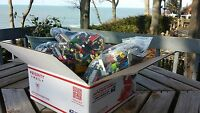 2000+ LEGO PIECES BULK GREAT PRESENT! MINIFIGURES STAR WARS CLEAN 4 + POUNDS