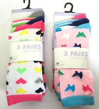 Calcetines de niña de 2 a 16 años rosa