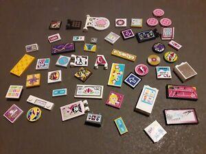 Lego Friends printed & stickers bundle x 50