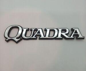 ⭐🇫🇷 NEUF MONOGRAMME QUADRA RENAULT 21 R21 2L 2.0 TURBO 2 LITRES NEW BADGE