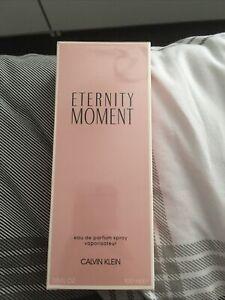 calvin klein eternity moment perfume 100ml