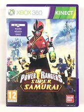 Power Rangers Super Samurai Jeu Xbox 360 / Kinect