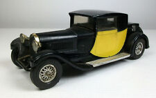 Matchbox Models of Yesteryear Y-24 1928 Bugatti Type 44, Yellow & black, no box