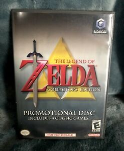 Legend of Zelda Collector's EditionNintendo GameCube  Promotional Disc Tested!