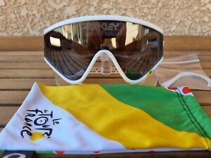 Oakley eyeshade Heritage Tour De France White /Black Iridium eyeshades Collector