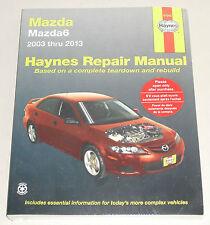 Reparaturanleitung Mazda 6 Mazda6, Baujahre 2003 - 2013