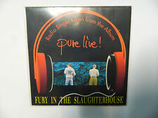 Fury In The Slaughterhouse Pure Live! GER CDSingle 1992 Promo Sampler