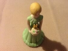 11 Year Old Enesco Growing Up Birthday Girls Porcelain and / or Cake Topper