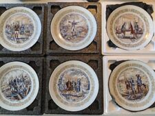 6 Darceau Limoges Plate Lafayette Series Collector Plates
