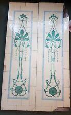 Pair of Art Nouveau Panels