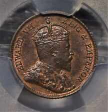Straits Settlements 1908 1/4 Cents PCGS MS63BN PC0731 combine shipping
