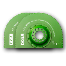 CEL Segmented Saw Blade 80mm (Pack of 2) - Oscillating Multi-Tool Accessory)