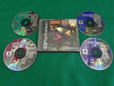 Playstation 1 PS1 Video Game FEAR EFFECT Complete 4-Disc Set w Case Discs Clean