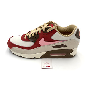 Nike Air Max 90 NRG Bacon 2021 Sail Pink Red Brown CU1816-100 Men Size 9-15
