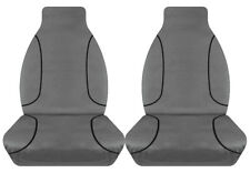 FULL CAR PACK 14oz CANVAS SEAT COVERS FOR TOYOTA HILUX SR SINGLE CAB 15-ON