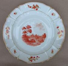 LARGE GERMAN NYMPHENBURG PORCELAIN CHARGER MUNCHEN HAND PAINTED