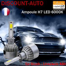 Ampoules LED HID Xénon phare x2 H7 72W 6000K - AUDI tous modèles