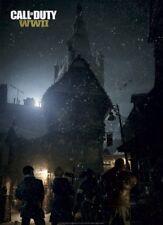 Call of Duty WW2 Zombies Poster GameStop Exclusive World War 2 Nazi Zombies 2017
