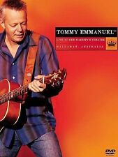 Live at Her Majesty's Theatre [DVD] by Tommy Emmanuel (CD, Jul-2006, Favored Nations Records (USA))