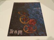 DIR EN GREY mechanism for leave 1998 pamphlet book
