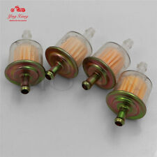 4pcs for honda cbr crf pit dirt bike motorcycle round plastic gas fuel  filter