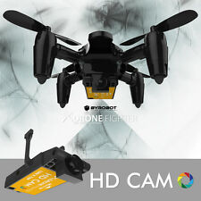 Camera Drone Fighter | RC Quadcopter (SD Card Reader, 6 batteries, multicharger)
