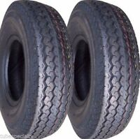 TWO 570x8, 570-8, 5.70x8, 5.70-8 Boat, Utility, Trailer Tires Load Range C