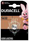 Duracell Knopfzellenbatterie 1632 CR1632 3V, 1er Pack
