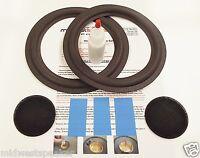 "Advent Prodigy 8"" Woofer Refoam Kit - Speaker Foam Repair w/ Shims & Dust Caps!"