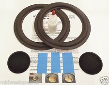 "Marantz Imperial 4G  8"" Woofer Refoam Kit - Speaker Foam Repair w/ Shims & Caps!"