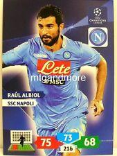 Adrenalyn XL Champions League 13/14 - raul albiol-SSC Napoli
