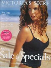 EUGENIA SILVA  Spring 2002 VICTORIA'S SECRET Catalog