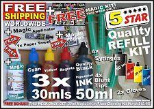 17x REFILL KIT CANON PIXMA MP495 INK CARTRIDGE CL-511 CL-513 Colour Printer NEW