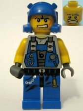 LEGO 8959 - POWER MINERS - Power Miner - Rex - MINI FIGURE