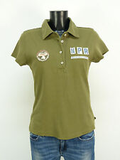 Napapijri camiseta polo talla M/verde & Sportiv y trendy (l 3603)